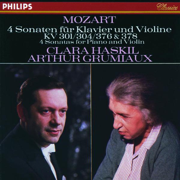 Clara Haskil - Mozart : 4 Sonates pour piano et violon, KV 301, 304, 376 & 378