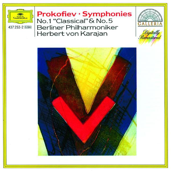 """Berliner Philharmoniker - Prokofiev: Symphonies Nos.1 """"Classical"""" & 5"""