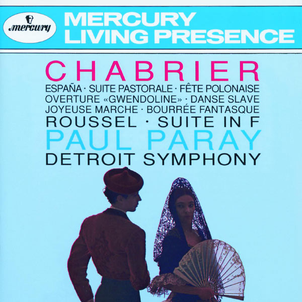Paul Paray - Chabrier - Roussel