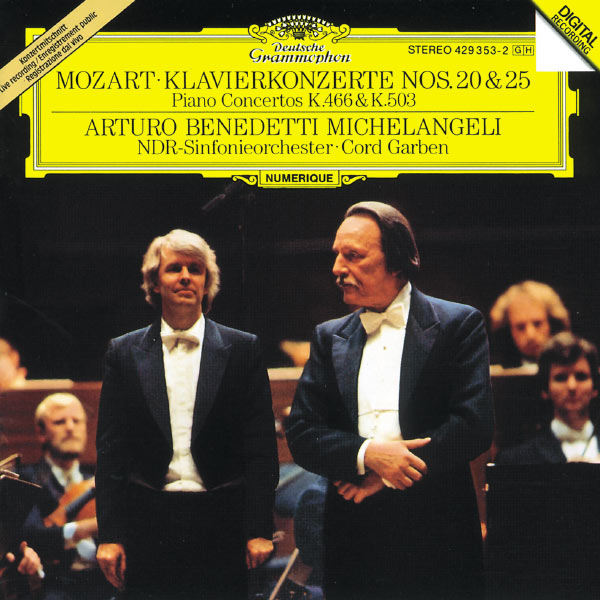 NDR Sinfonieorchester - Mozart: Piano Concertos Nos. 20 & 25