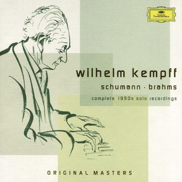 Wilhelm Kempff - Schumann / Brahms: Complete 1950s Solo Recordings