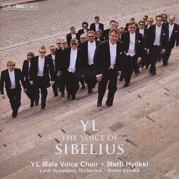 """YL Male Voice Choir - Jean Sibelius. """"The Voice of Sibelius"""" (Mélodies pour chœur d'hommes a cappella ou avec orchestre)"""