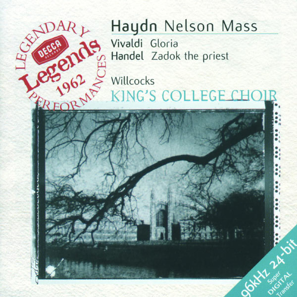 Elizabeth Vaughan - Haydn: Nelson Mass / Vivaldi: Gloria in D / Handel: Zadok the Priest