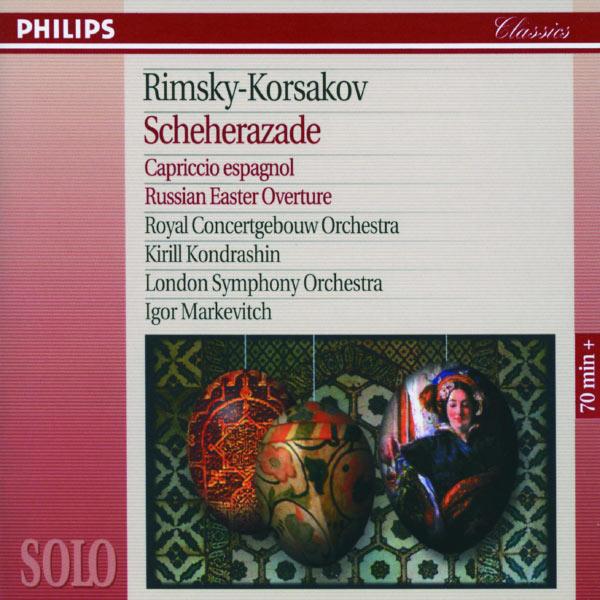 Herman Krebbers - Rimsky-Korsakov: Scheherazade; Capriccio Espagnol; Russian Easter Overture