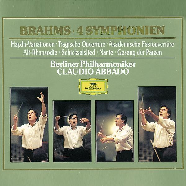 Claudio Abbado - Brahms : 4 Symphonien