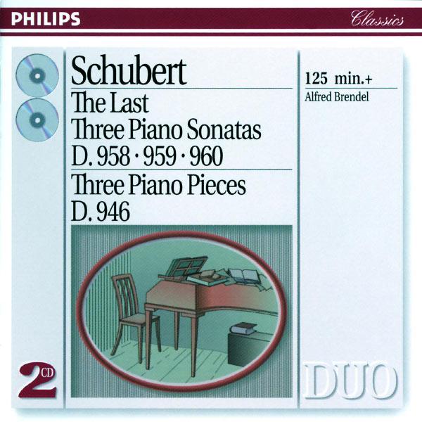 Alfred Brendel - Schubert: The Last Three Piano Sonatas