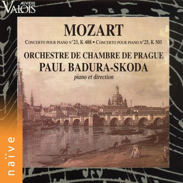 Paul Badura-Skoda - Mozart: Concertos pour piano, K. 488 & K. 503