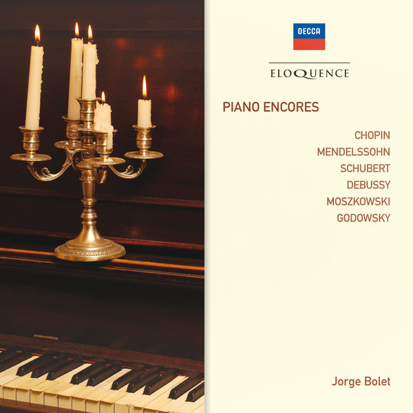 Jorge Bolet - Piano Encores (Chopin, Mendelssohn, Schubert...)