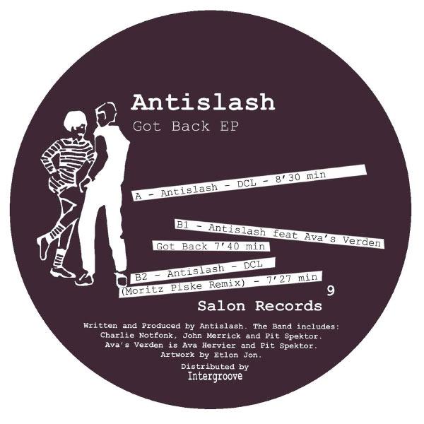Antislash - Got Back EP