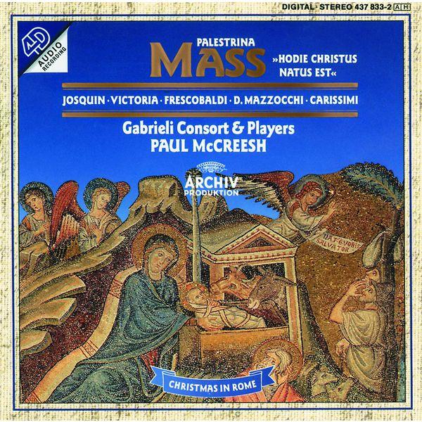 Paul McCreesh - Christmas Mass in Rome - Palestrina: Mass Hodie Christus natus est