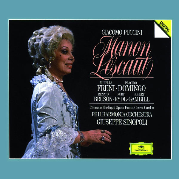 Giuseppe Sinopoli - Puccini : Manon Lescaut