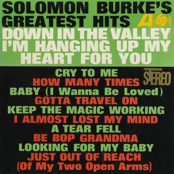 Solomon Burke - Solomon Burke's Greatest Hits (Édition Studio Masters)