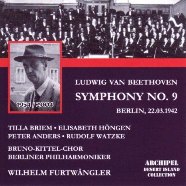 Beethoven: Symphony No  9 - Choral (Berlin, 1942) par Tilla Briem