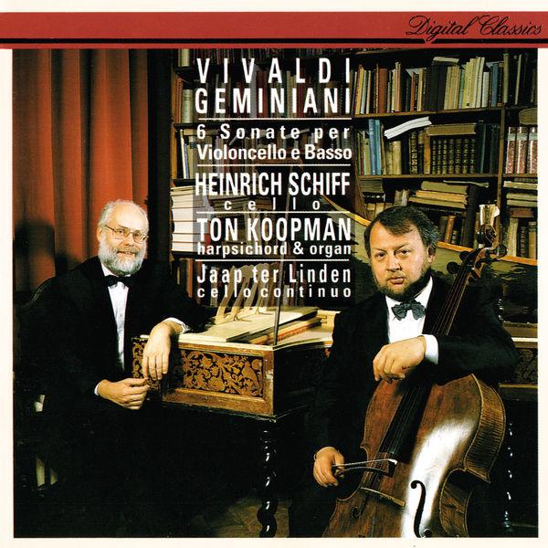 Heinrich Schiff - Vivaldi & Geminiani: Cello Sonatas