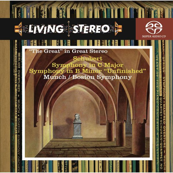 """Charles Munch - Schubert: Symphony No. 9 in C Major """"Great""""; Symphony No. 8 """"Unfinished"""""""