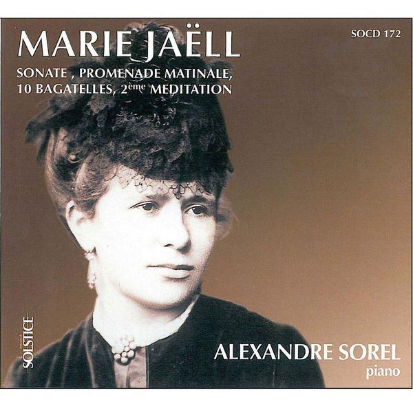 Alexandre Sorel - Sonate, promenade matinale, 10 bagatelles, 2ème méditation