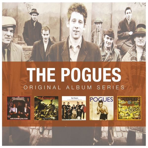 The Pogues - Red Roses For Me / Rum Sodomy And The Lash / If I Should Fall From Grace With God / Peace And Love / Hell's Ditch (Original Album Series)