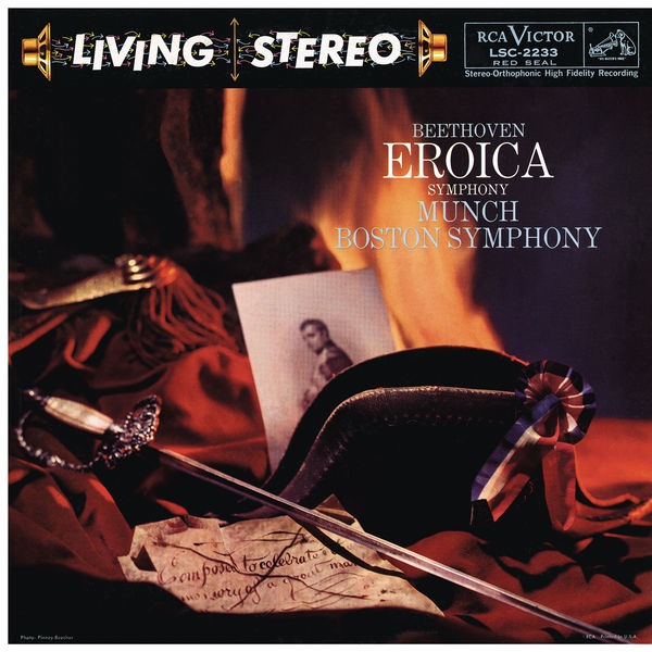 """Charles Munch - Beethoven: Symphony No. 3 in E-Flat Major, Op. 55 """"Eroica"""""""