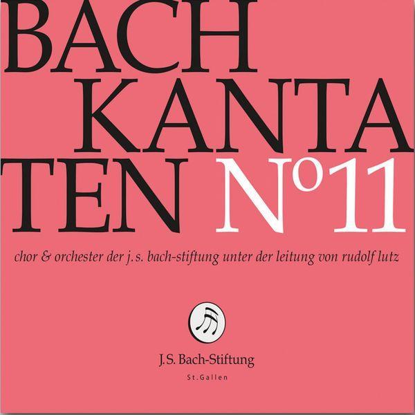Chor der J. S. Bach-Stiftung - Bachkantaten N°11 (BWV 170, 26, 172)