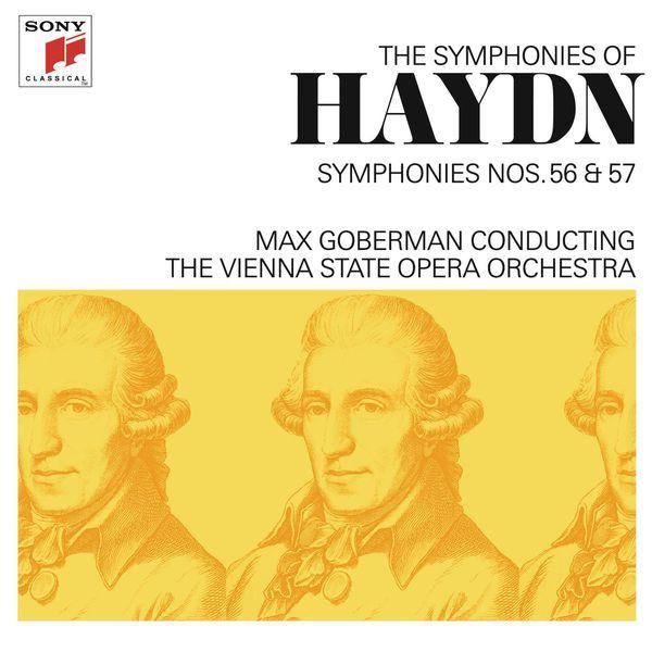 Max Goberman - Haydn: Symphonies Nos. 56 & 57