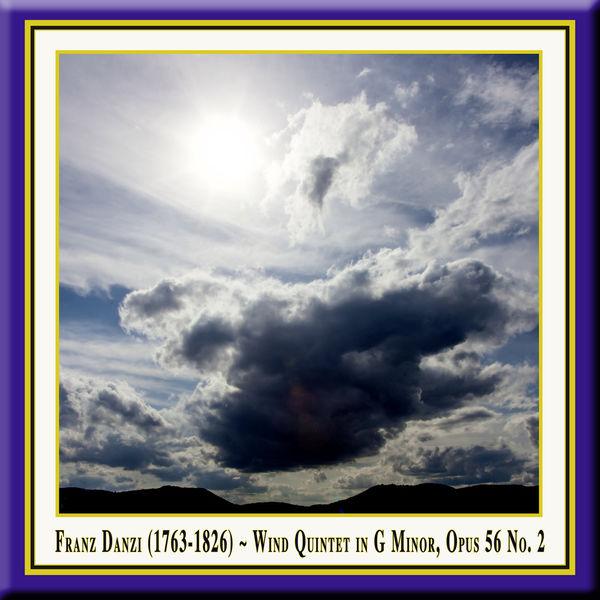 Franz Danzi - Franz Danzi: Wind Quintet in G Minor, Op. 56 No. 2 for Flute, Oboe, Clarinet, French Horn & Bassoon / Bläserquintett in G-Moll Op.56 Nr.2