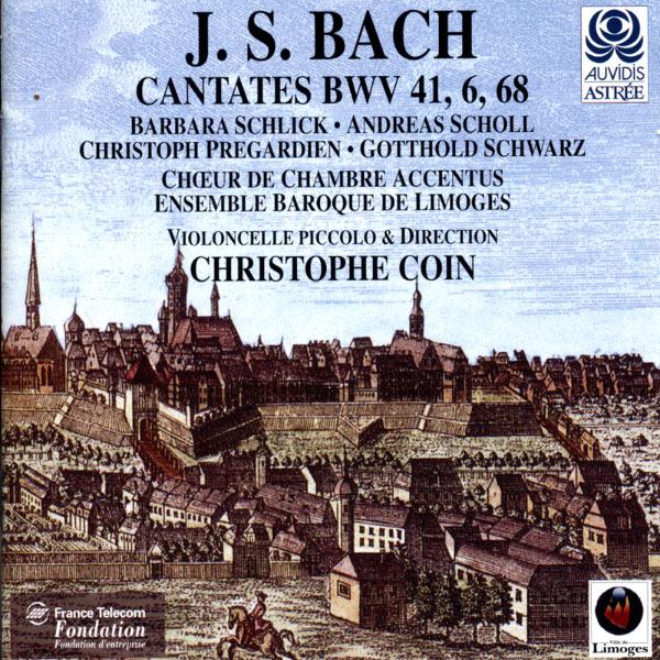 Christophe Coin - Bach: Cantates with violoncello piccolo