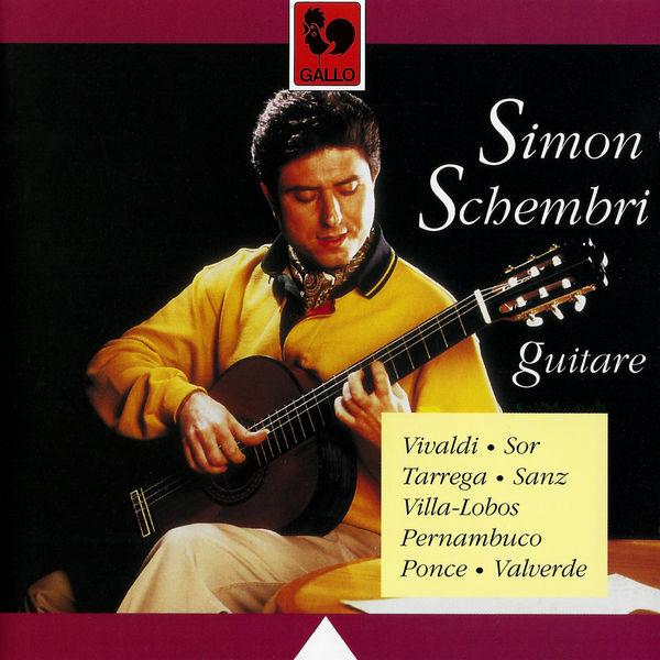 Gaspar Sanz - Classical Guitar: Vivaldi, Sor, Tarrega, Sanz, Villa-Lobos, Pernambuco, Ponce & Valverde