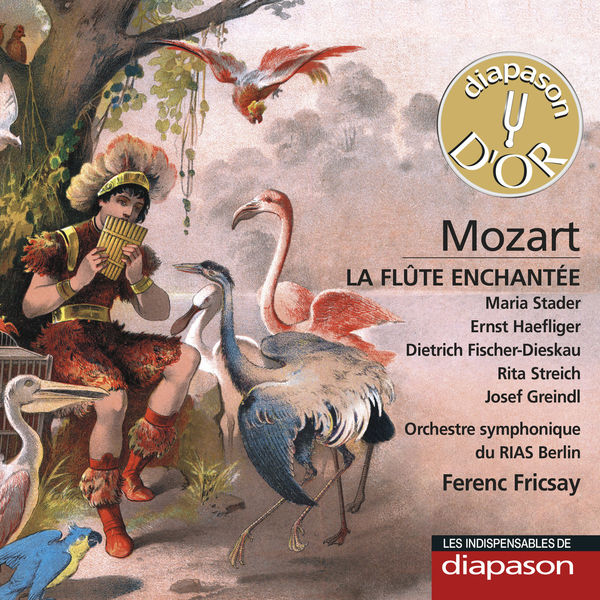 Ferenc Fricsay - Mozart : La Flûte enchantée