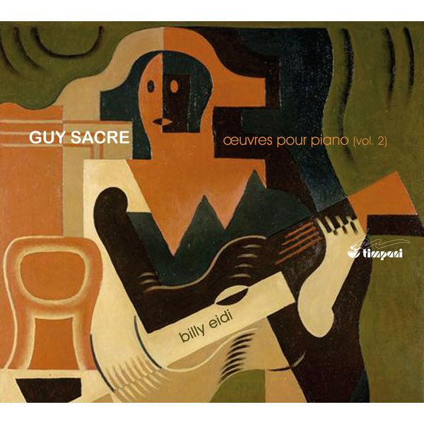 Billy Eidi - Sacre: Piano Music, Vol. 2