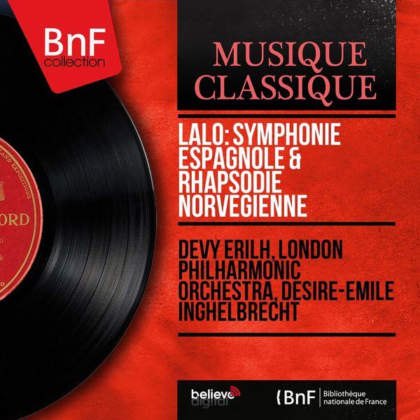 Devy Erilh - Lalo: Symphonie espagnole & Rhapsodie norvégienne (Mono Version)