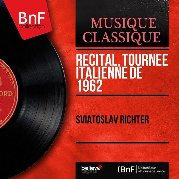 Sviatoslav Richter - Récital, tournée italienne de 1962 (Live, Stereo Version)