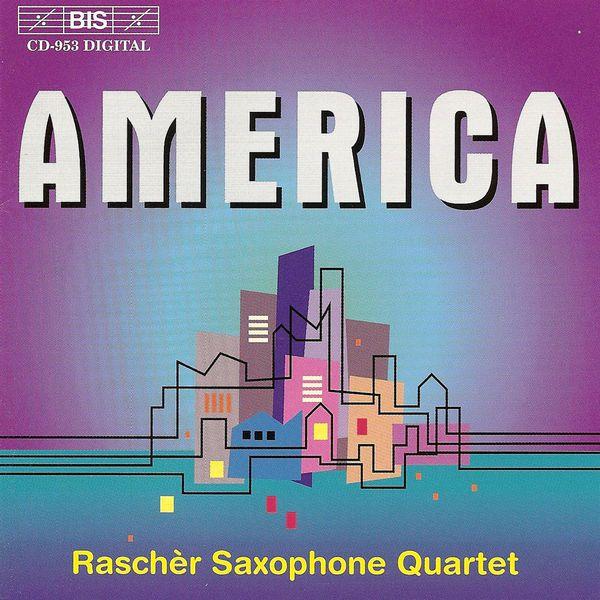 Harry Kinross White - WUORINEN / STARER / ADLER: Music for Saxophones