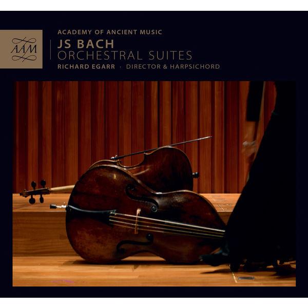 Richard Egarr - J.S. Bach : Orchestral Suites