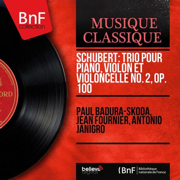 Paul Badura-Skoda - Schubert: Trio pour piano, violon et violoncelle No. 2, Op. 100 (Mono Version)