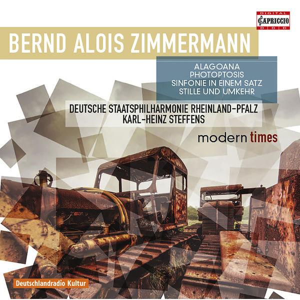 Staatsphilharmonie Rheinland-Pfalz - Zimmermann: Alagoana, Sinfonie in einem Satz, Photoptosis & Stille und Umkehr
