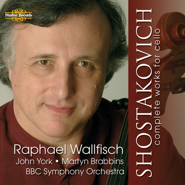 Raphael Wallfisch - Shostakovich: Complete Works for Cello