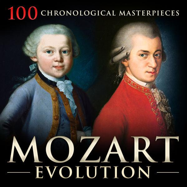 Wolfgang Amadeus Mozart|Mozart Evolution: 100 Chronological Masterpieces