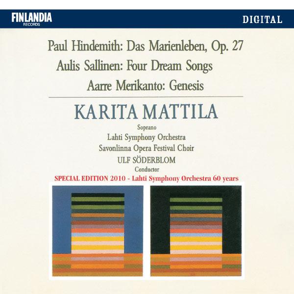 Karita Mattila - Hindemith / Sallinen / Merikanto