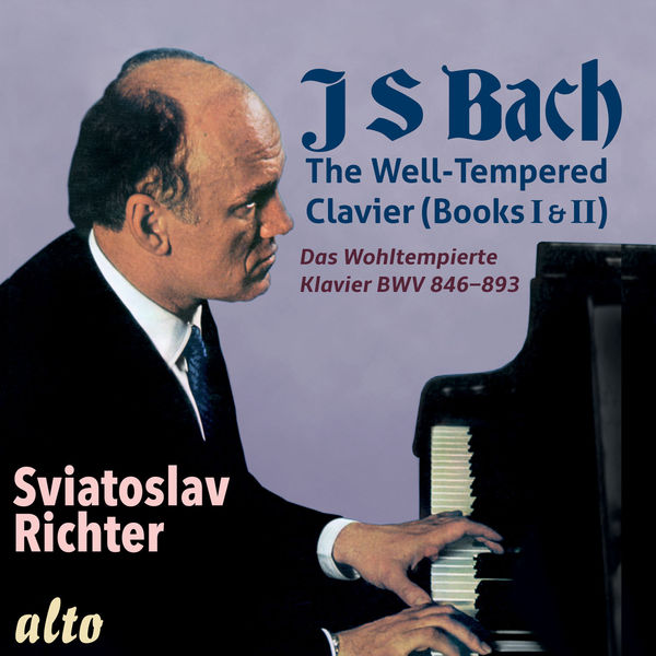 Sviatoslav Richter - Bach: Well Tempered Clavier (Books I & II, Complete)