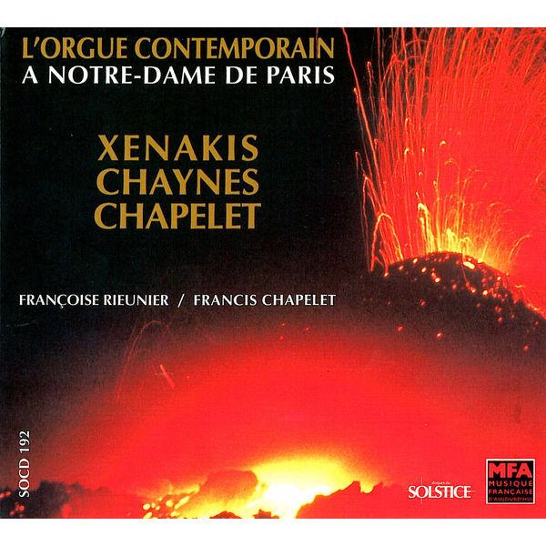 Francis Chapelet Iannis Xenakis - Charles Chaynes - Francis Chapelet
