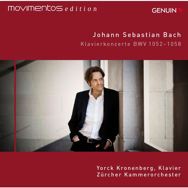 Yorck Kronenberg - J.S. Bach: Piano Concertos, BWV 1052-1058 (Movimentos Edition)