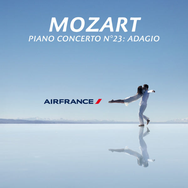 Les Siècles - Piano Concerto No. 23 in A, K. 488: II. Adagio (Air France TV Ad) - Single