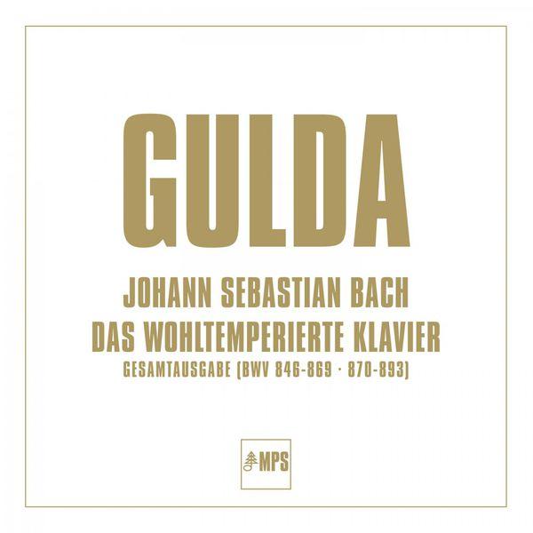 Friedrich Gulda - Das wohltemperierte Klavier (Gesamtausgabe BWV 846-869, 870-893)