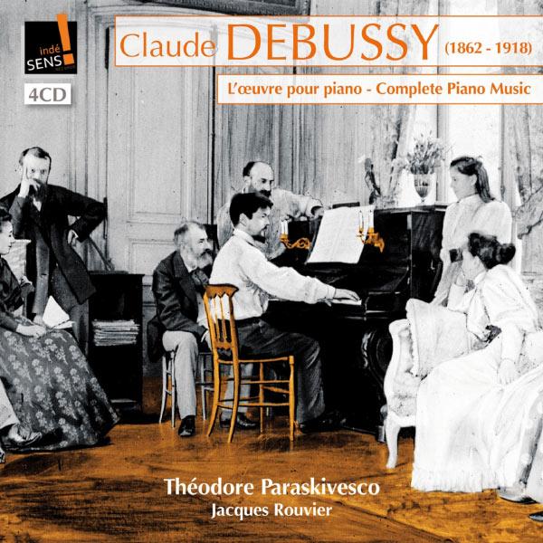 Théodore Paraskivesco - Intégrale de la musique pour piano