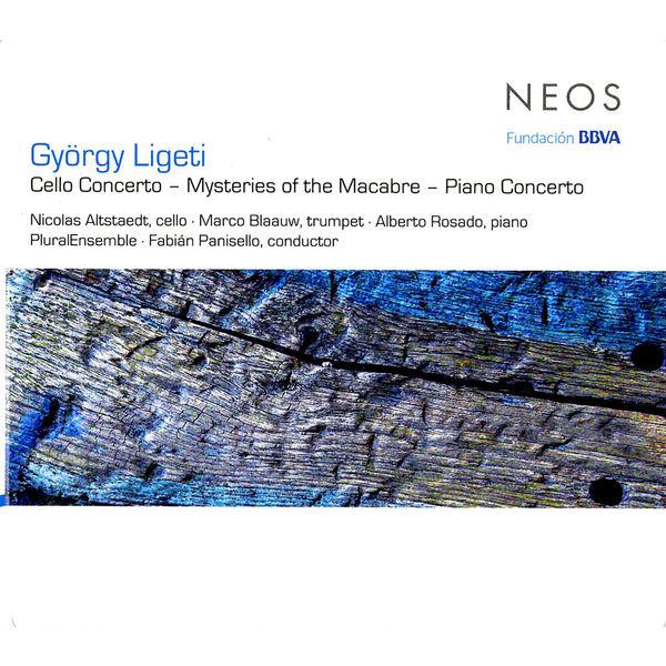 Nicolas Altstaedt - Ligeti: Cello Concerto, Mysteries of the Macabre & Piano Concerto
