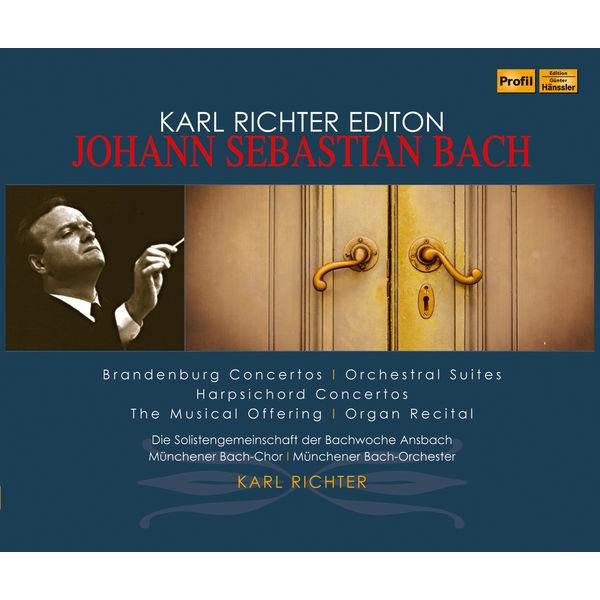 Karl Richter Chamber Orchestra - J.S. Bach: Brandenburg Concertos, Orchestral Suites, & Harpsichord Concertos