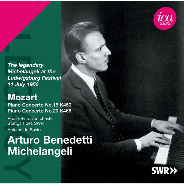 Arturo Benedetti Michelangeli - Mozart: Piano Concertos Nos. 15 & 20 (Ludwigsburg Festival 1956)