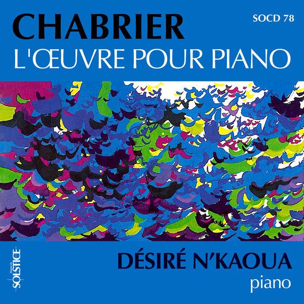 Désiré N'Kaoua - L'Œuvre pour piano