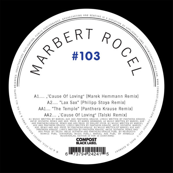 Marbert Rocel Compost Black Label #103