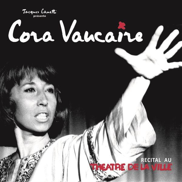 Cora Vaucaire - Cora Vaucaire récital au théatre de la ville
